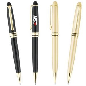 Elegant - Enamel Finish Brass Pen