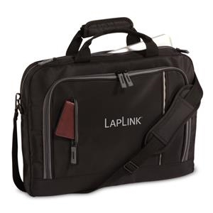The City - Embroidery - Computer Case With Smooth Microfiber Construction, Distinctive And Durable