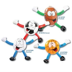 Inflatable Sport Guys - Football Baseball Basketball Soccer
