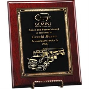 Esquire Windsor Collection - Large Esquire Plaque - This Award Is Pre-drilled To Be Hung In Vertical Or Horizontal Format