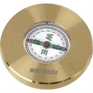 New Direction's - Matte Solid Brass Compass Paperweight