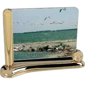 "Designer Gallery - Gold Plated Zinc Alloy Frame That Holds A 6"" X 4"" Image"