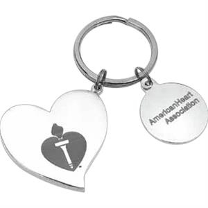 Heart Shaped Key Holder With Pouch