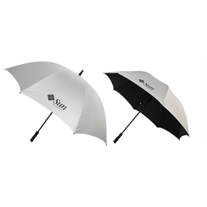 "Ultrablock - Fiberglass Golf Umbrella With 58"" Nylon Arc And Matching Nylon Sleeve"