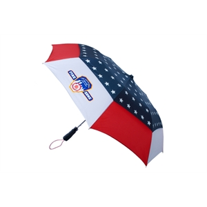 "The Patriot - Vented, 42"" Arc Umbrella With Automatic Opening"