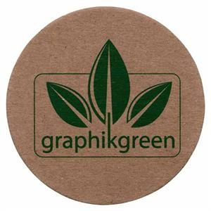 Graphikgreen - Coaster Made From Post Consumer Recycled Chipboard