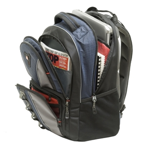 "Cobalt (tm) - This 16"" Computer Backpack Fits Up To A 16"" Laptop And Still Has Room For More"