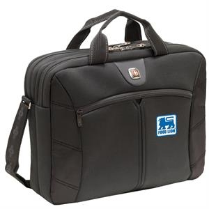 "Sherpa (tm) - This 16"" Computer Slimcase Has Rear File Pockets That Provide Compact Protection"