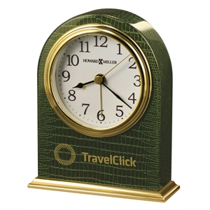 Madison - Emerald Green Tabletop Alarm Clock