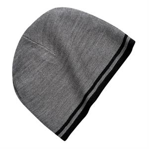 Port & Company (r) - Acrylic Fine Knit Skull Cap With Contrast Stripe Edge
