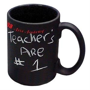 Black - 1 Working Day - Chalkboard Mug, 15 Oz