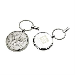 Globe Magnetic Puzzle Keychain