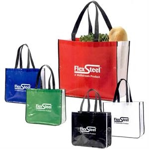 The Retailer - Blue - Shopping Bag, 70g Non Woven And 30g Laminated Non Woven Polypropylene