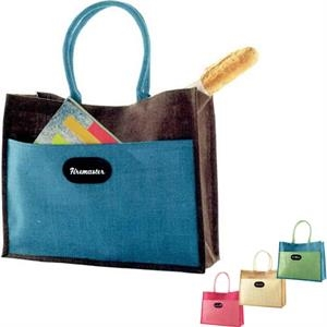The Vacation - Blue - Polyester Tote Bag With Dual Side Pockets