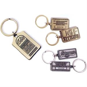 Die Cast Zinc Non-registered Key Tag