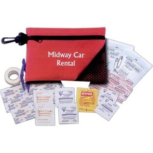 Basic First Aid Kit With Reusable Bag