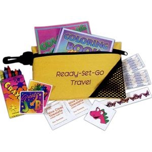 Kids Travel Kit With Reusable Bag
