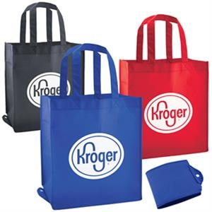 Non-Woven Foldable Shopping / Grocery Tote Bag