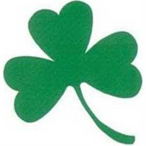 Temporary Tattoos (tm) - Stock, Non Toxic, Hypoallergenic Shamrock With 3 Leaves Tattoo, Fda Certified