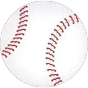 "Temporary Tattoos (tm) - Stock, Non Toxic, Hypoallergenic 2"" X 2"" Baseball Tattoo Is Fda Certified"