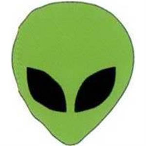 "Temporary Tattoos (tm) - Stock, Non Toxic, Hypoallergenic 2"" X 2"" Alien Face Tattoo Is Fda Certified"