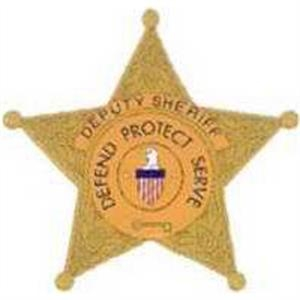 "Temporary Tattoos (tm) - Stock, Non Toxic, Hypoallergenic, 2"" X 2"" Sheriff's Badge Tattoo Is Fda Certified"
