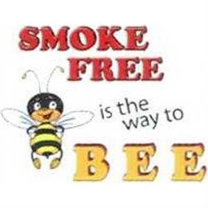 Temporary Tattoos (tm) - Stock, Non Toxic, Hypoallergenic Smoke Free Is The Way To Bee Tattoo