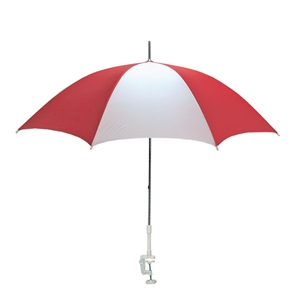 Clamp On Beach Nylon Umbrella With Plastic Clamp