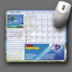 Mousepaper (r) - Recycled Note Paper (landscape) Mouse Pad - 5-day Std; Rush: 3-day