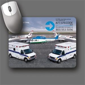 "Peel & Place (r) - 6""x8""x.015""-ultra Thin, Hard Surface Mouse Pad-5-day; Rush: 24 Hour,1,2,or 3-day"