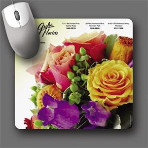 "Barely There (tm) - 7.5""x8""x.020""-ultra Thin, Hard Surface Mouse Pad-5-day; Rush: 24 Hour,1,2,or 3-day"