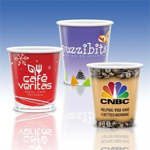 Heavy Duty Paper Hot Cup-9 Oz.-full Color- 5-day Std; Rush: 2,3,or 4-day
