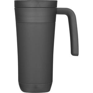 Thermo Cafe' (tm) - Travel Mug With Scratch-resistant Base. Available June, 2012