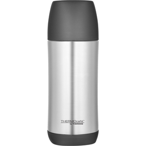 Thermo Cafe' (tm) - Beverage Bottle With Large Serving Cup. Available June, 2012