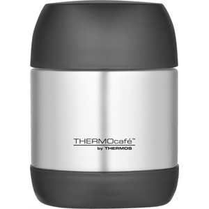 Thermo Cafe' (tm) - Stainless Steel Food Jar Is Wide Mouthed. Available June, 2012