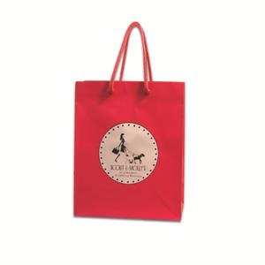 Mini Laminated Paper Euro Tote