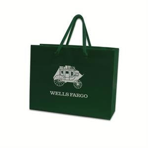 Small Laminated Paper Euro Tote