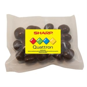 Large Promo Candy Pack with Chocolate Covered Raisins