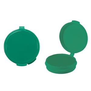 Pill Popper - Green Empty Plastic Pill Case. Plastic Pill Box/ Pill Case For Your Medications