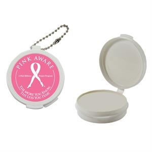 Pill Popper - White Empty Plastic Pill Case. Plastic Pill Box/ Pill Case For Your Medications