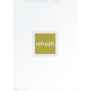 Refresh Good Life Series - Motivational Quote Book. Hardcover With Jacket, 60 Pages