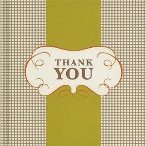 Thank You - Hardcover, Quotation Book. 48 Pages