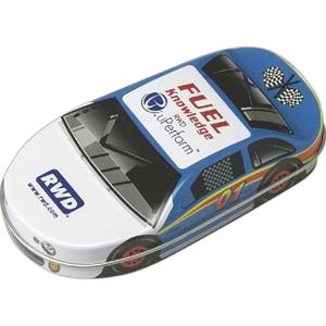 Race Car Tin Filled With Assorted Jelly Beans