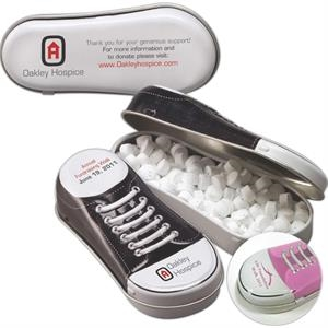 Sneaker Shaped Tin Filled with MicroMints (R)