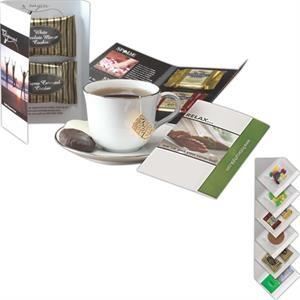 Imprinted Calling Card with Stash Tea Assortment