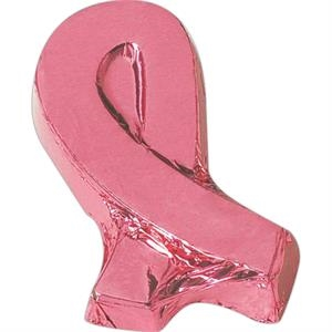 1 Oz. Awareness Ribbon Shape Molded Chocolate