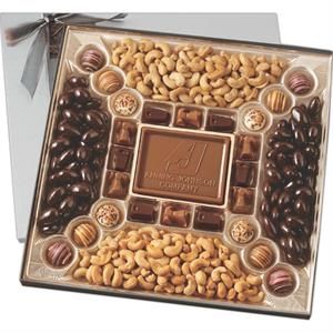 Confectionery Delight Gift Box with Nuts & Chocolate