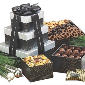 Snack n' Share Chocolate and Confections Gift Tower