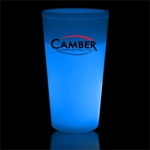 Blue 12 oz. Light Up Glow Cup
