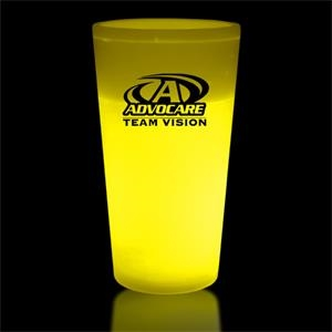 Yellow 12 oz. Light Up Glow Cup